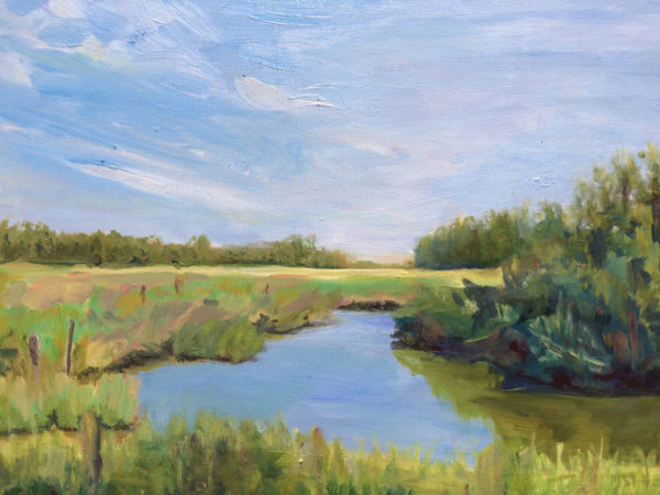 merritt swamp original oil painting