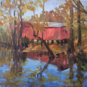 oil painting bart levy art little swift creek