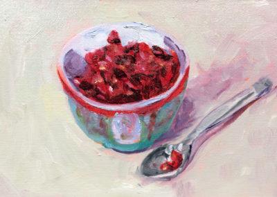 Bowl of Pomegranates