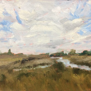 wanchese marsh outer banks NC OBX bart levy art
