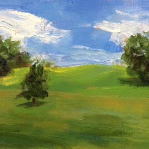 green pastures charlottesville original oil painting a day bart levy art