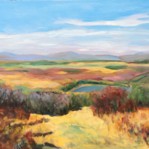 Canaan Valley, WV original painting of the day by Bart Levy artist