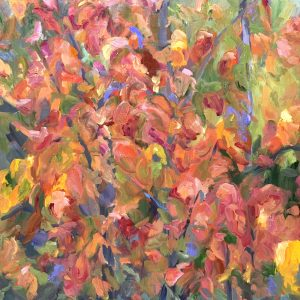 Fall Color, original oil painting, bart levy