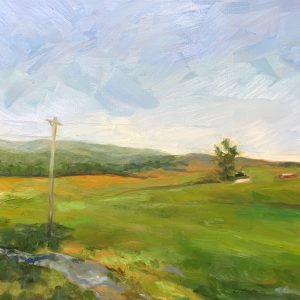 Raphine Farm, original oil painting, bart levy